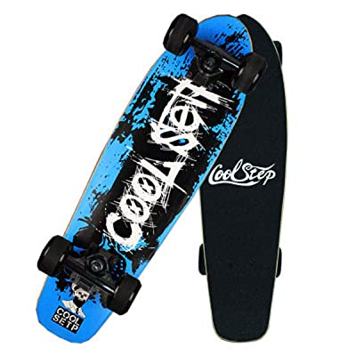 "QINGMM 26"" Skateboard for Kids, Beginners - Canadian Maple Cruiser Non-Slip Deck for Boys and Girls: Home & Kitchen"