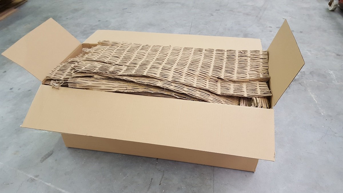194 Liter Füllmaterial Papp-Schredder Verpackungsmaterial Karton Kartonagen Polster (0, 07€/1 Liter) 07€/1 Liter) Bauelemente Ölscher