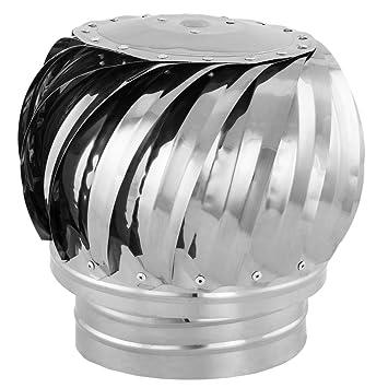 PrimeMatik - Sombrero Extractor de Humos galvanizado Giratorio para Tubo de 150 mm de diámetro: Amazon.es: Electrónica