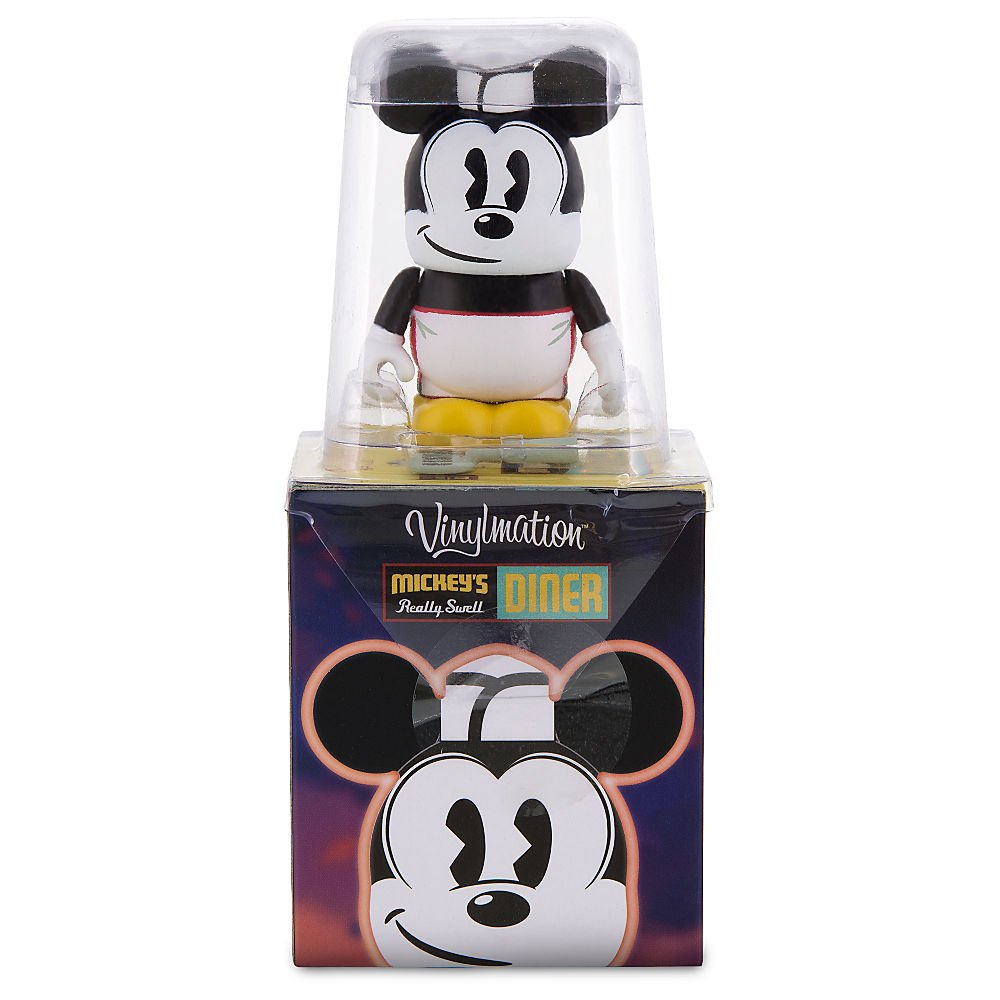 Walt Disney World Series 16 Vinylmation 2 Pack Reveal//Conceal Blind Box with Monorail Mark Blue Mystery Figure