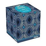 Kleenex Expressions Facial Tissues, 74 Tissues per Cube Box