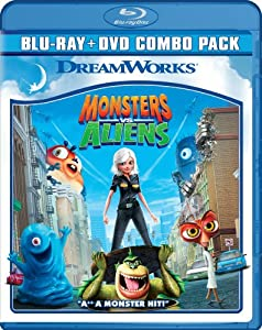 Cover Image for 'Monsters vs Aliens (Two-Disc Blu-ray/DVD Combo)'