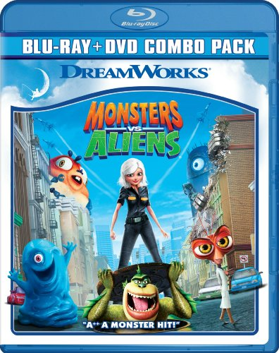 Monsters vs Aliens (Two-Disc Blu-ray/DVD Combo)