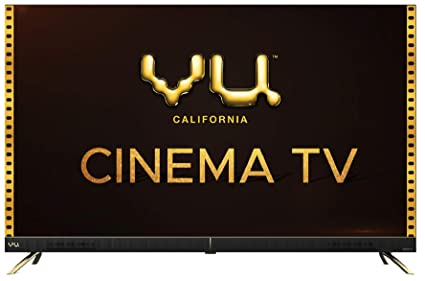 VU 126 cm  50 inches  4K Ultra HD Cinema Android Smart LED TV 50CA  Black  | With 40W Front Soundbar Smart Televisions