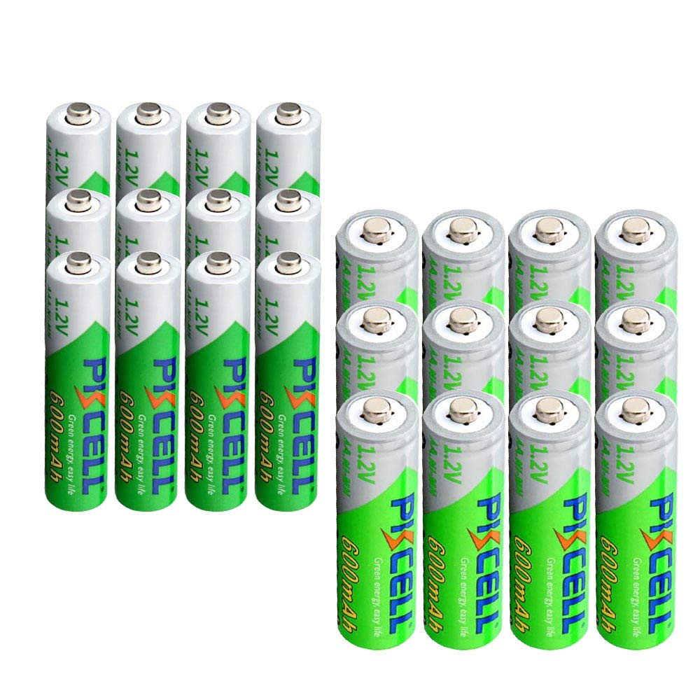 Precharged NIMH Bayttery Low Self Discharged AA AAA 600mAh Battery 8pc(AA+AAA) PKCELL
