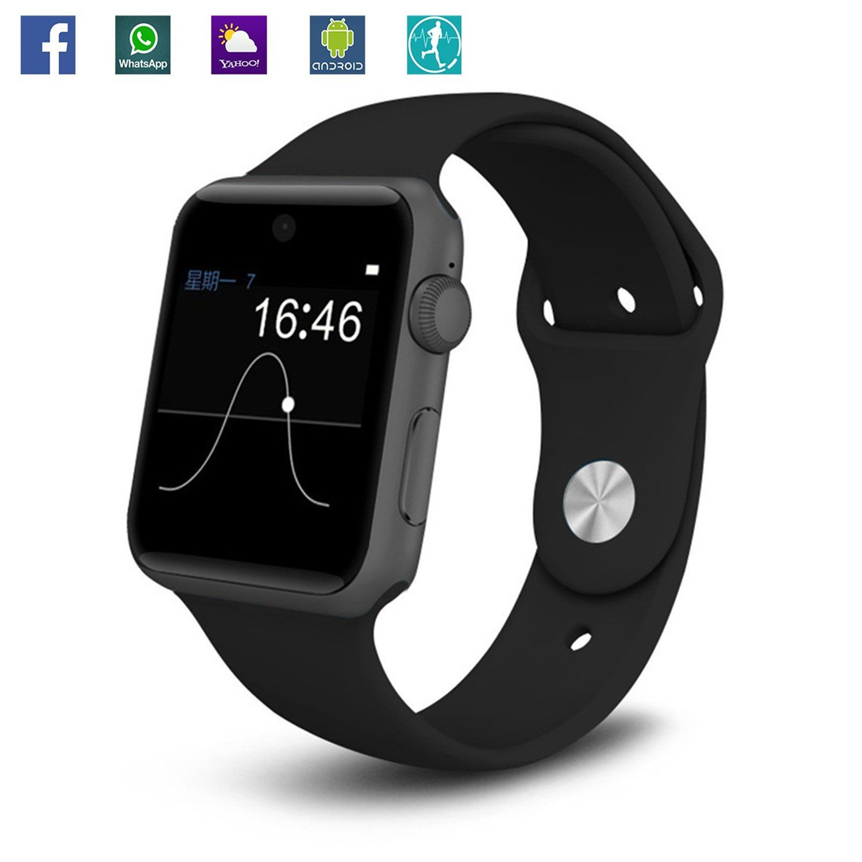 Amazon.com: Bluetooth 4.0 Fitness Tracker SmartWatch SIM ...