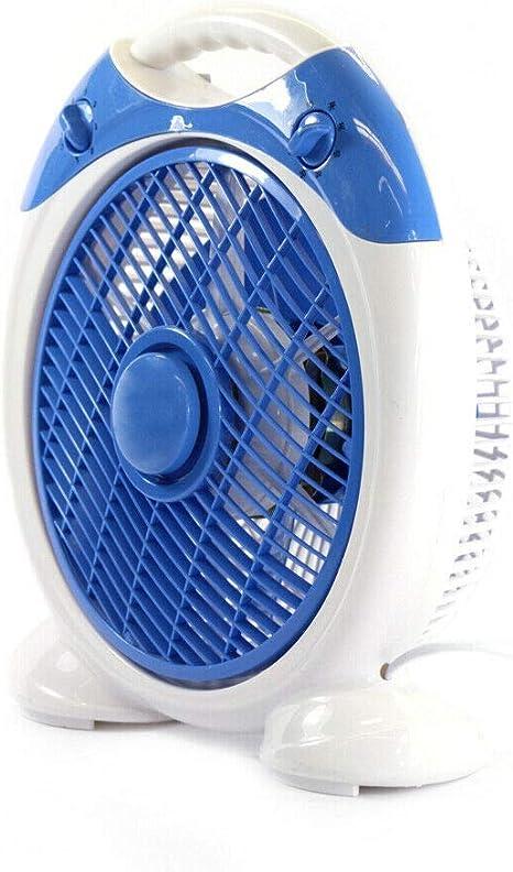 KENEX Ventilador de sobremesa portátil. 35W. 6 Aspas, con ...