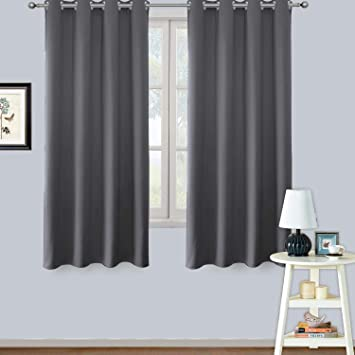 Amazoncom Lifonder Bedroom Window Blackout Curtains Thermal
