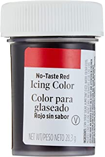Wilton RED NO TASTE Icing Colour Paste Gel Sugarcraft Food Cake ...