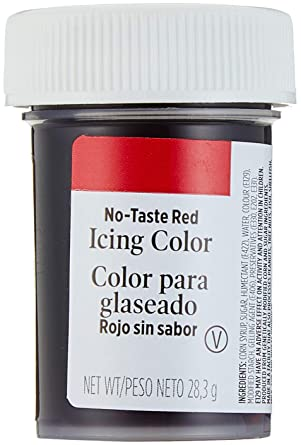 Wilton Icing Colors 1oz Red Red Amazon Co Uk Grocery