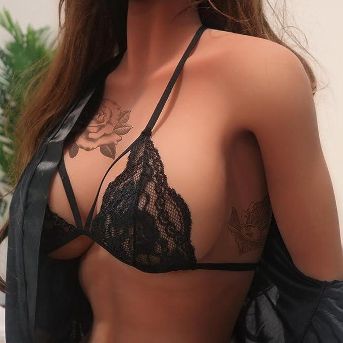 62c13d897d Gocheape Women Plus Size Bra Enchanting Lace Sexy Lingerie Sleepwear  Fashion Brassiere at Amazon Women s Clothing store