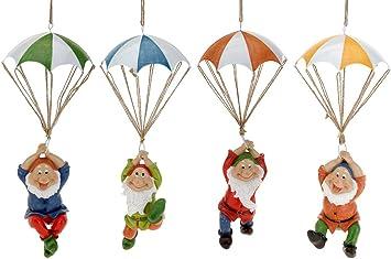 Garden ornament garden decoration Gnomes hanging around
