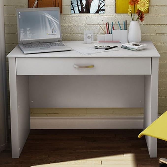 Ordenador escritorio ID portátil barato escritorios cuaderno blanco pequeño para regazo Mesa Portátil para el hogar oficina de espacios de madera barato y ...