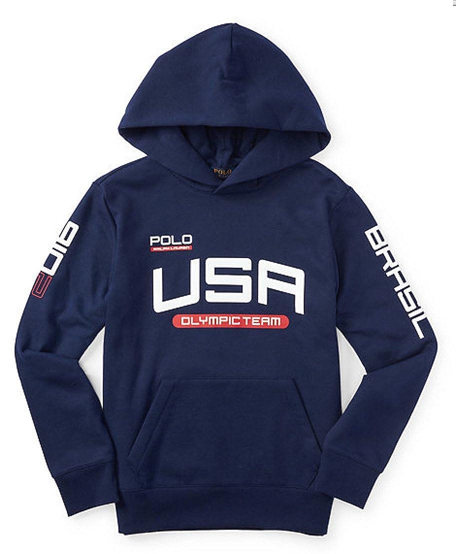 Ralph Lauren Boys' Team USA Fleece Hoodie