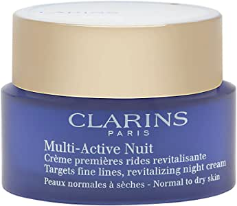 Clarins Multi-Active Normal To Dry Skin Night Cream, 1.7 Ounce