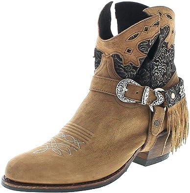 Mode Sendra Handmade Boots Braun Stiefeletten (Debora