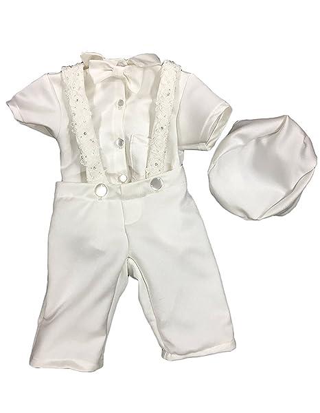Amazon.com: aorme bebé niños bautismo bautizo trajes traje ...