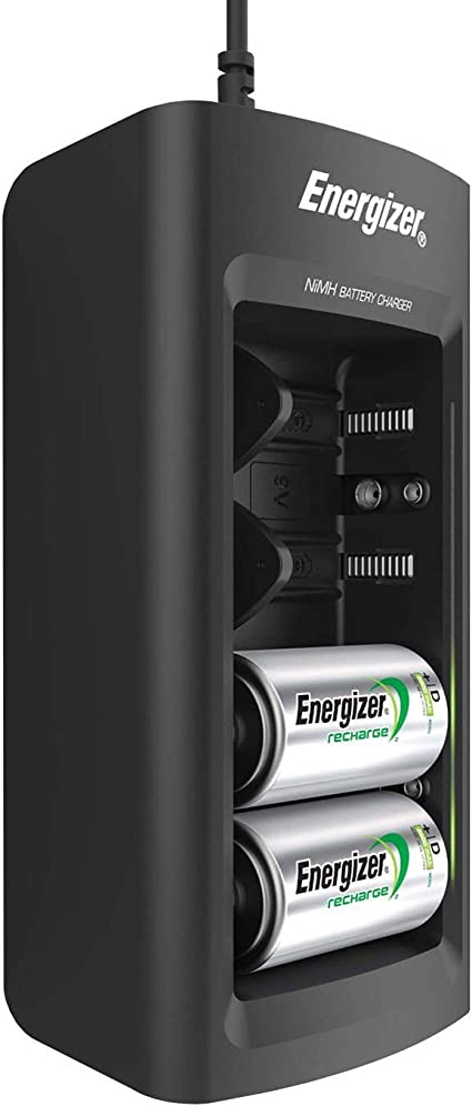 Amazon.com: Cargador universal Energizer Recharge carga ...