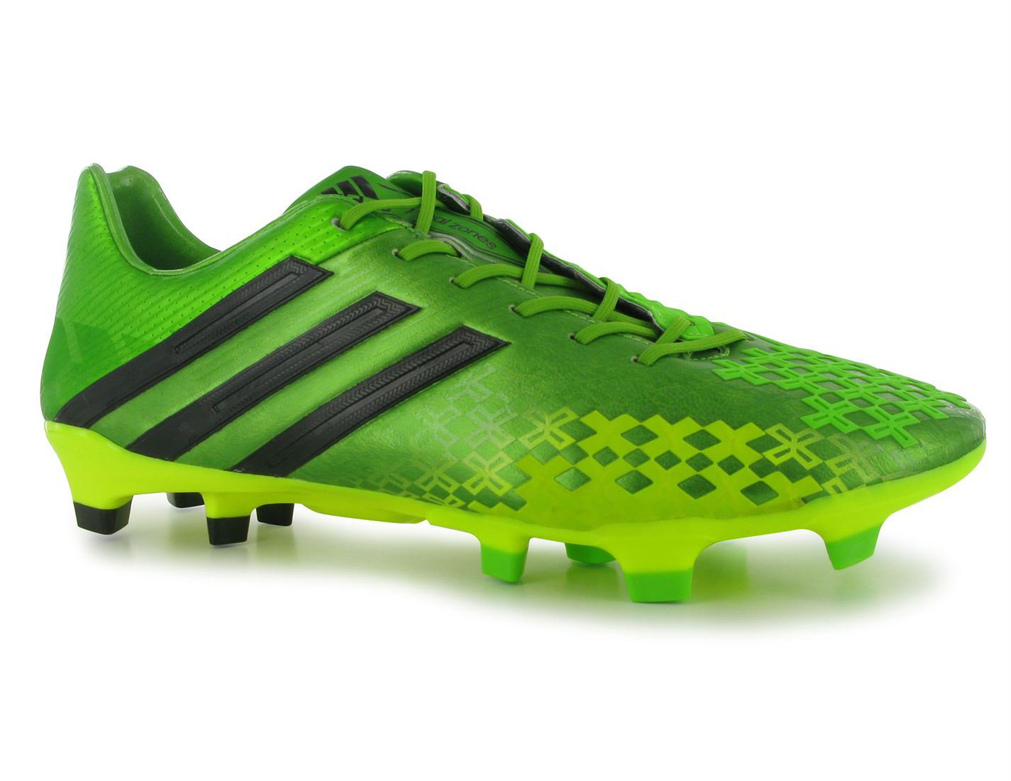 92a862f218e9 Adidas Predator Men s FG Neon Green Leather Moulded Stud Mouldies Football  Boots Soccer Cleats GAA Rugby .. Sizes 6 to 12  Amazon.co.uk  Sports    Outdoors