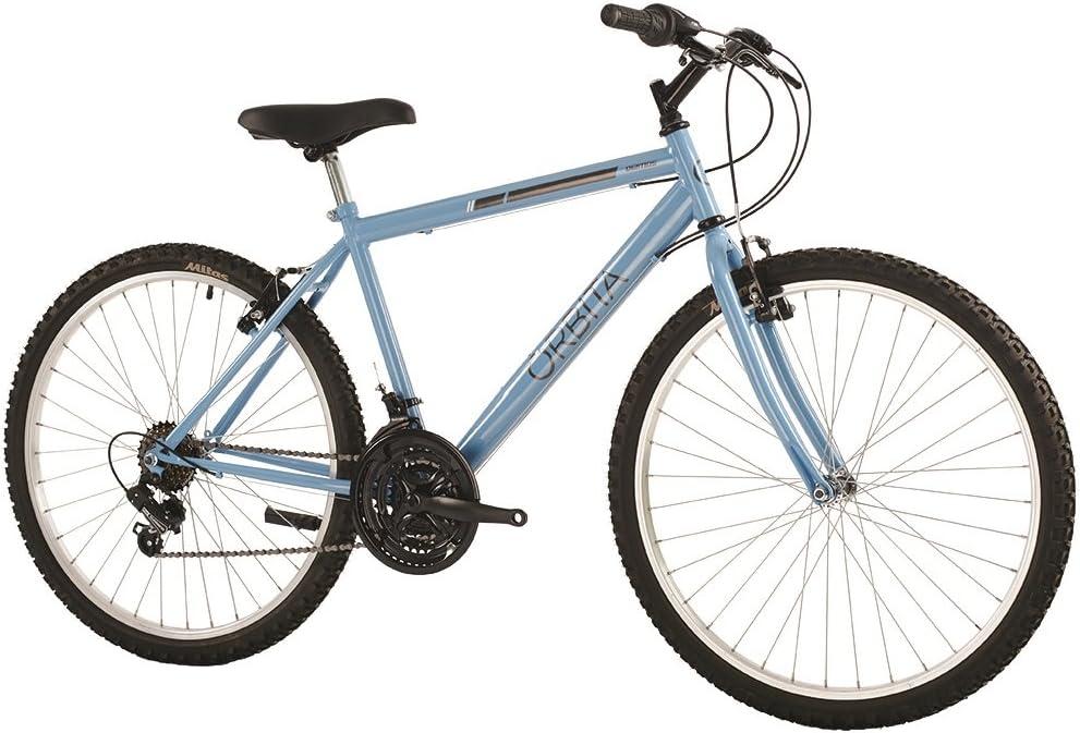 Orbita Deimos Bicicleta, Hombre, Azul Pastel, 16: Amazon.es ...