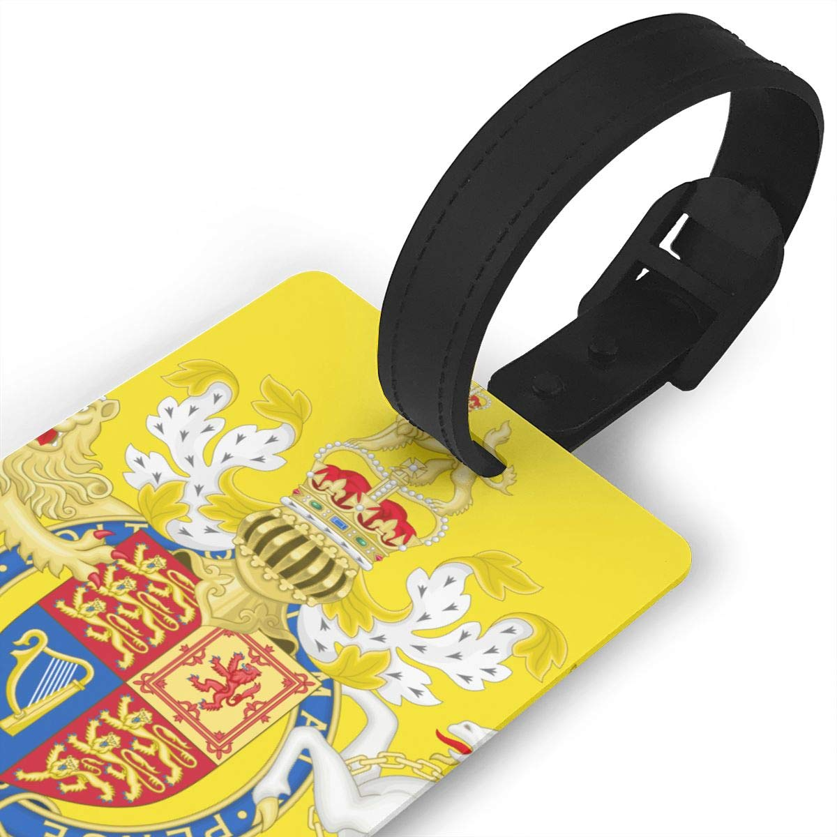 KODW12 Royal Coat of Arms of The United Kingdom Luggage Tag Travel Bag Labels Suitcase Bag Tag Name Address Cards by KODW12 (Image #3)