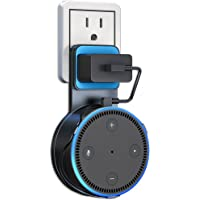 Matone Outlet Wall Mount Hanger Stand for Home Voice Assistants (2nd Generation Only), A Space-Saving Solution for Your Smart Home Speakers Without Messy Wires or Screws