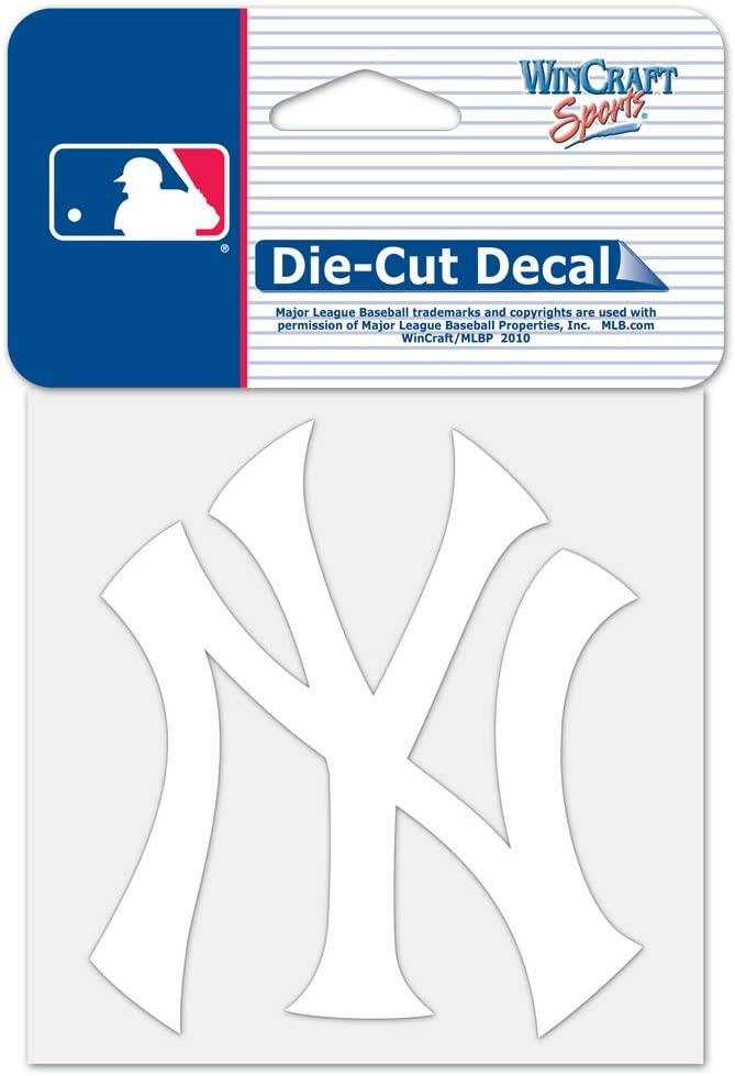 WinCraft MLB New York Yankees 45817011 Perfect Cut Decal, 4
