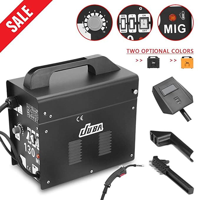 Poncherish MIG-130 - Soldador de electrodos (230 V, 50-120 A): Amazon.es: Bricolaje y herramientas
