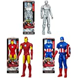 HASBRO Marvel Avengers Action Figures 30cm. 8mod. (Sogg.cas.) (1/2015) TV B0434