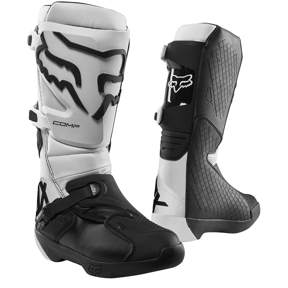 Fox Racing Comp Boots (10) (White) by Fox Racing