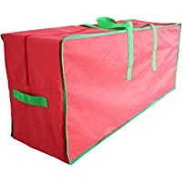 Abbraccia Large Christmas Tree Storage Bag, Holiday Artificial Disassembled Trees Waterproof Material Protects from Dust…