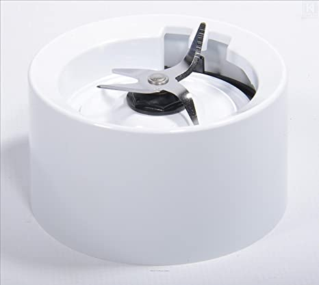 Base de jarra con cuchillas para batidoras KitchenAid blancas (modelos KSB555, KSB565, etc