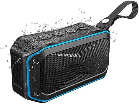 Qiyan Altavoces inalámbricos para Exteriores Subwoofer Bluetooth ...