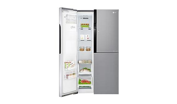 Amerikanischer Kühlschrank Maße : Lg electronics gsj pzxv side by side kühlschrank a cm
