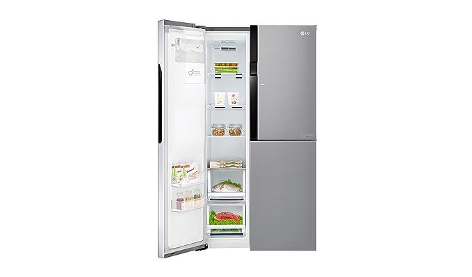 Amerikanischer Kühlschrank Mit Fernseher : Lg electronics gsj 560 pzxv side by side kühlschrank a 179 cm