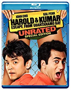 Harold & Kumar Escape From Guantanamo Bay (Unrated Special Edition) [Blu-ray]