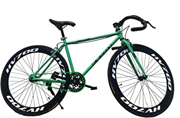 All-Bikes Bicicleta Fixie para Ciudad, City Bike, Fixed, Plato, bielas y ...