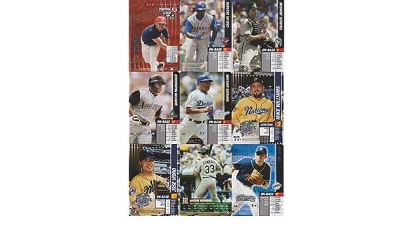 MLB Showdown Baseball 10 Card Lot Dotel & Delgado #P08, 21, P42, 49, 50, 76, 132, 157, 191, 300 at Amazons Sports Collectibles Store