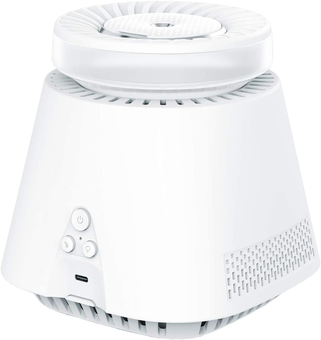 Thsinde Air Purifier, Home Air Purifiers Cool Mist Humidifiers 2-in-1 for Bedroom, Small Room and Office Whisper Quiet