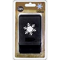 Sizzix Tholtz - Perforadora de Papel, diseño de Copos de Nieve