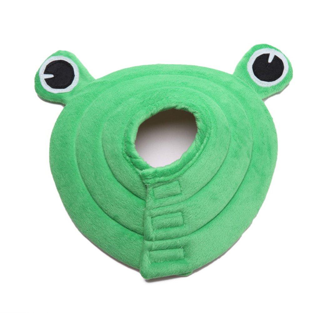 Medium Collar Elizabethan Comfortable Pet Predection Cover High Quality Washable Predective Collar Frog Modelling FY-37095