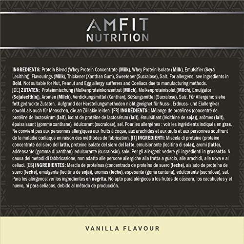 Amazon Brand - Advanced Whey Vanilla 990 g: Amazon.es: Salud ...
