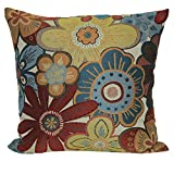 Brentwood Originals 8145 Siobhan 18 Inch Decorative pillow, Bright Multi