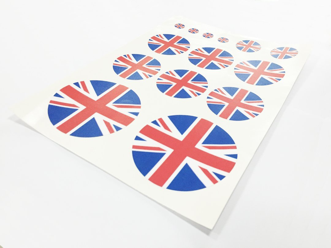 Uk Britain Flag KK Car Auto Sticker Vehicle-logo Badge Emblem Dian Bin-A90216 England