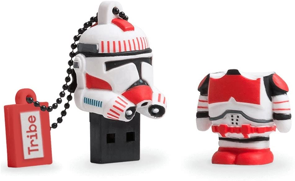 Llave USB 8 GB Shock Trooper - Memoria Flash Drive 2.0 Original ...