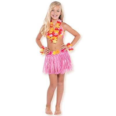 amscan Hula Skirt Party Kit: Toys & Games