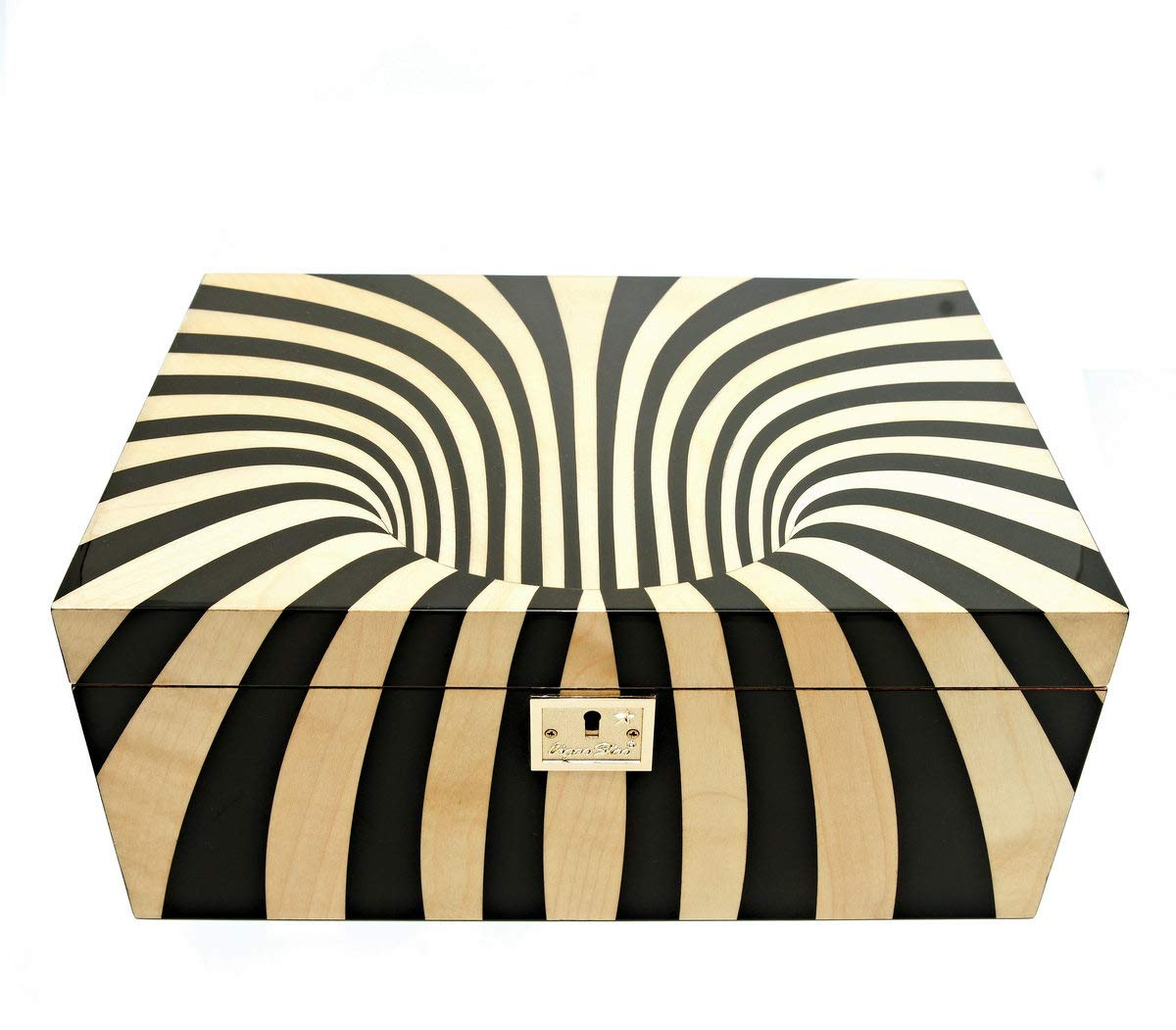 Cigar Star Boketto Humidor Limited Edition Optical Illusion Made from Wood! by Cigar Star (Image #2)