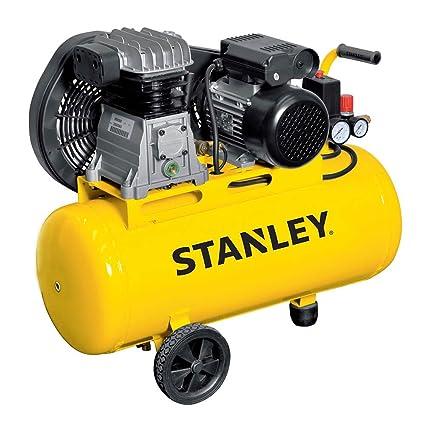 Compresor con aceite Transmisión a correa monostadio 50L 2HP Stanley B 251e/9/50