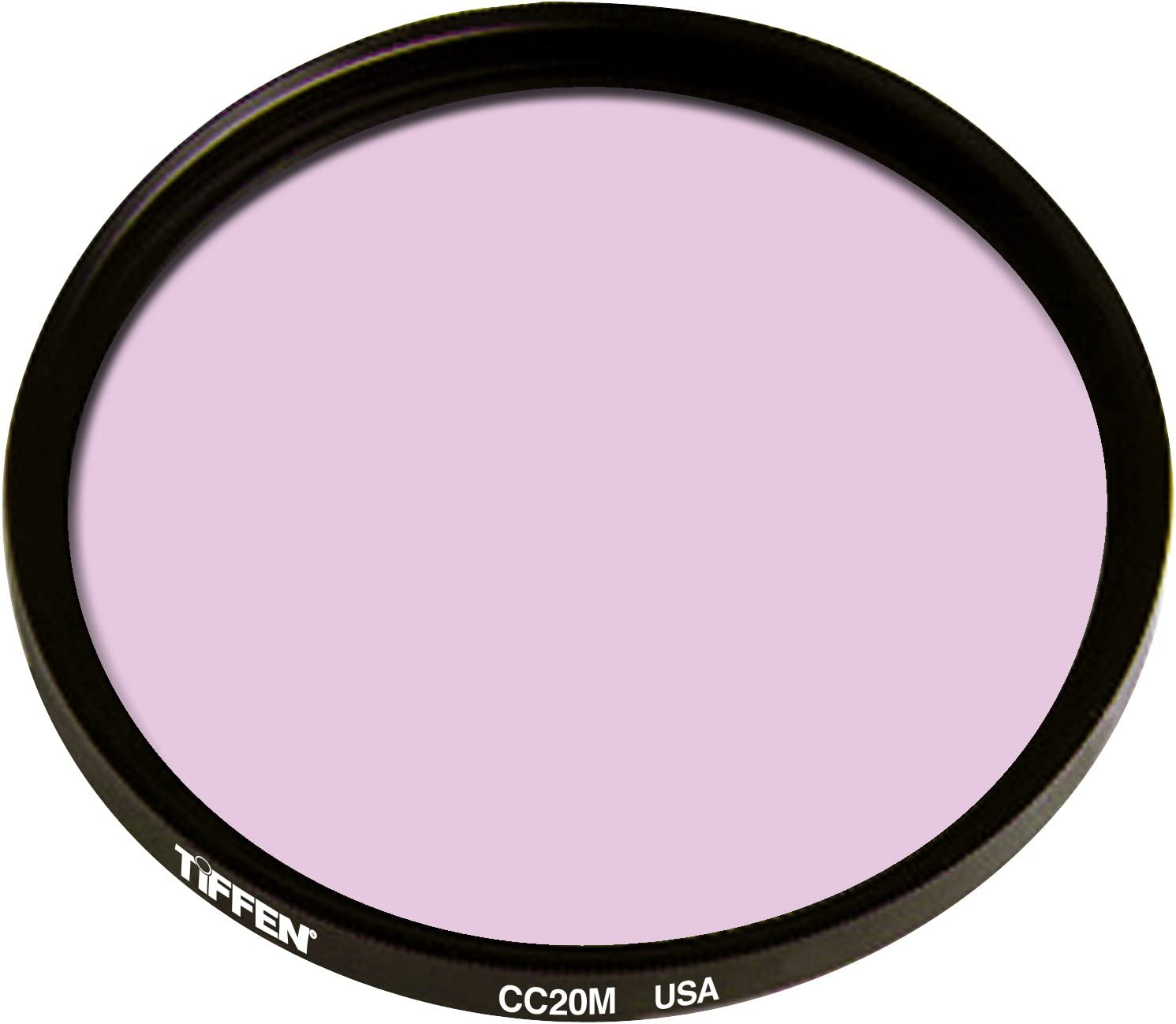 Tiffen 4.5 Round CC20M Magenta Round Filter
