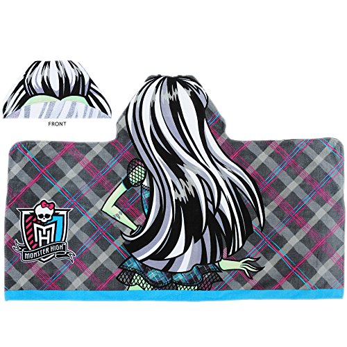 MONSTER HIGH HOODED TOWEL WRAP, FRANKIE STEIN by Monster High